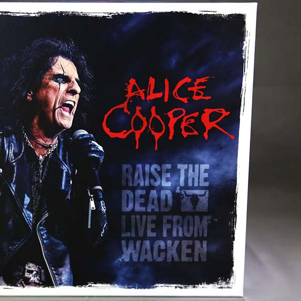 Alice Cooper - 'Raise The Dead (Live from Wacken)' Limited Deluxe Edition