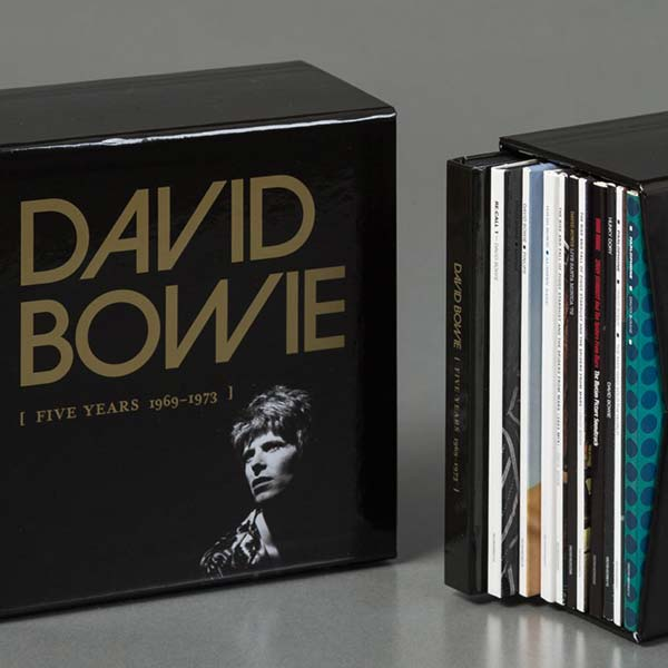 "David Bowie ""Five Years (1969 - 1973)"" CD Box Set"