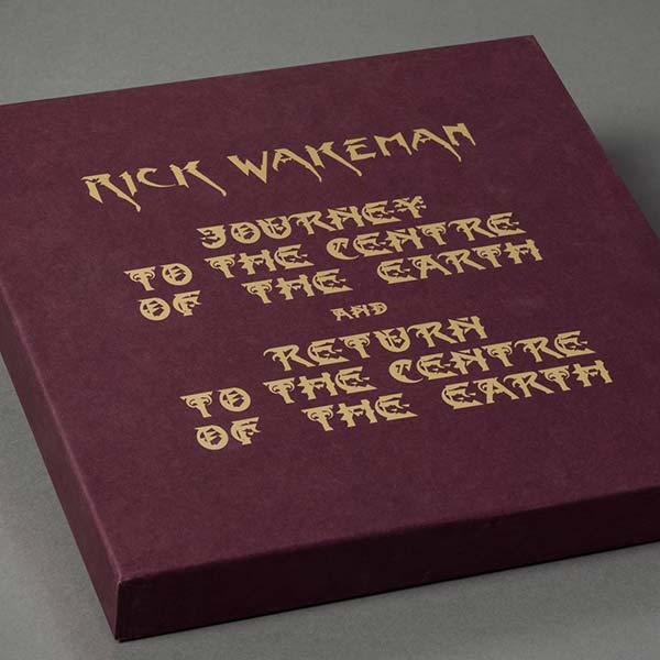 Rick Wakeman's Journey To The Centre of The Earth 4 LP and 2 CD set