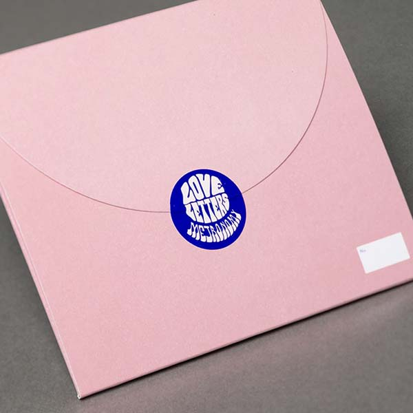 Metronomy - Love Letters special edition envelope packaging