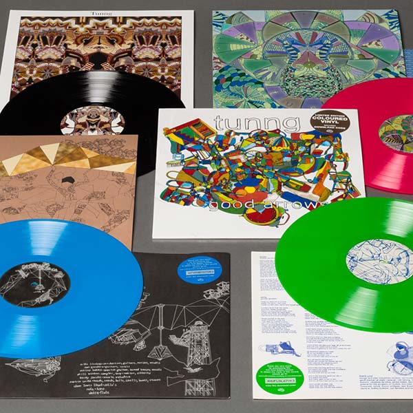 Tunng - Various Releases in Limited Edition Coloured Vinyl Records