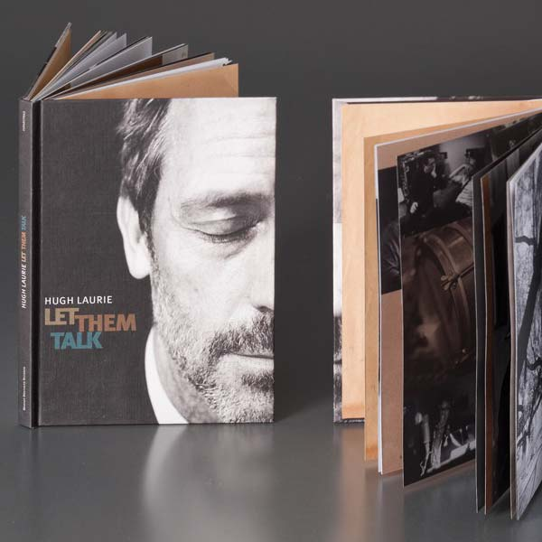 Hugh Laurie - 'Let Them Talk' Book Pack with CD