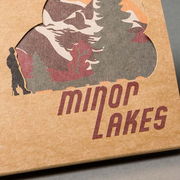 Modo was proud to manufacture the CD version of Patrick Bishop's 'Minor Lakes'.