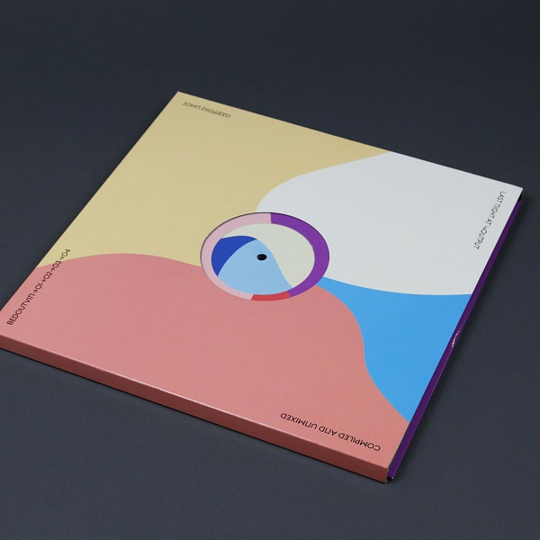 "John Digweed - ""Last Night at Output"" 4x12"" Vinyl Pack with the centre hole on the front cover. Made by Modo Design & Production"